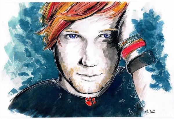 Ed Sheeran por Jennie
